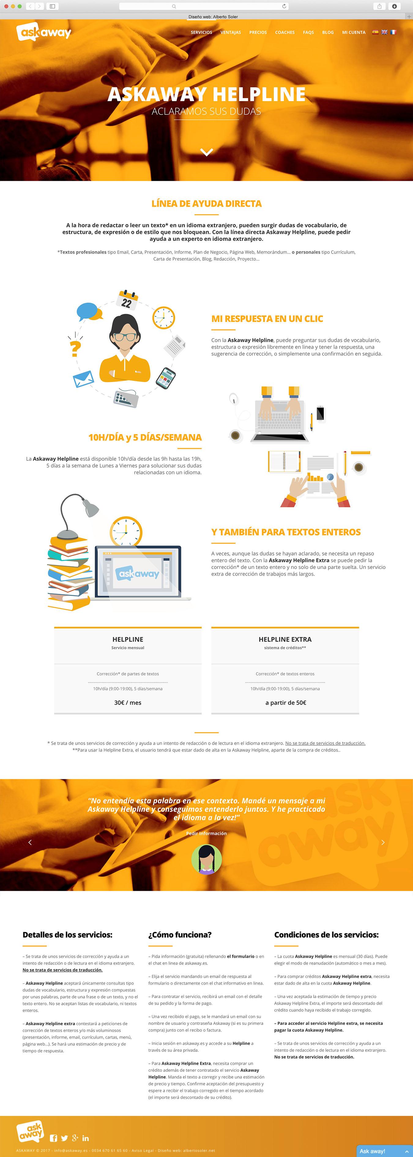 Askaway Web – Alberto Soler | Diseñador gráfico freelance